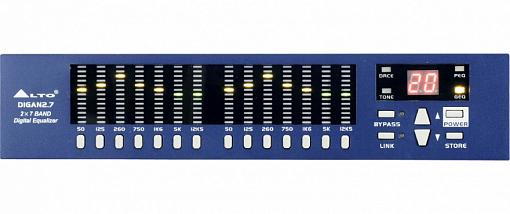Цифровой эквалайзер ALTO DIGAN2.7